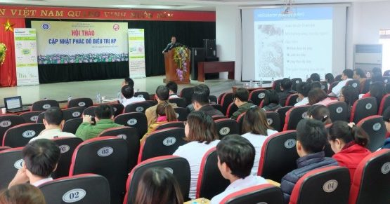 Hội thảo chuyên đề Cập nhật phác đồ điều trị Hp tại Bệnh viện đa khoa tỉnh Phú Thọ